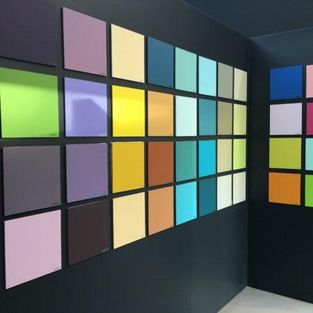 Kleurwand